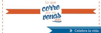 #LoQueCorrePorMisVenas 2015